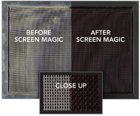 Screen Washing and Sealing
